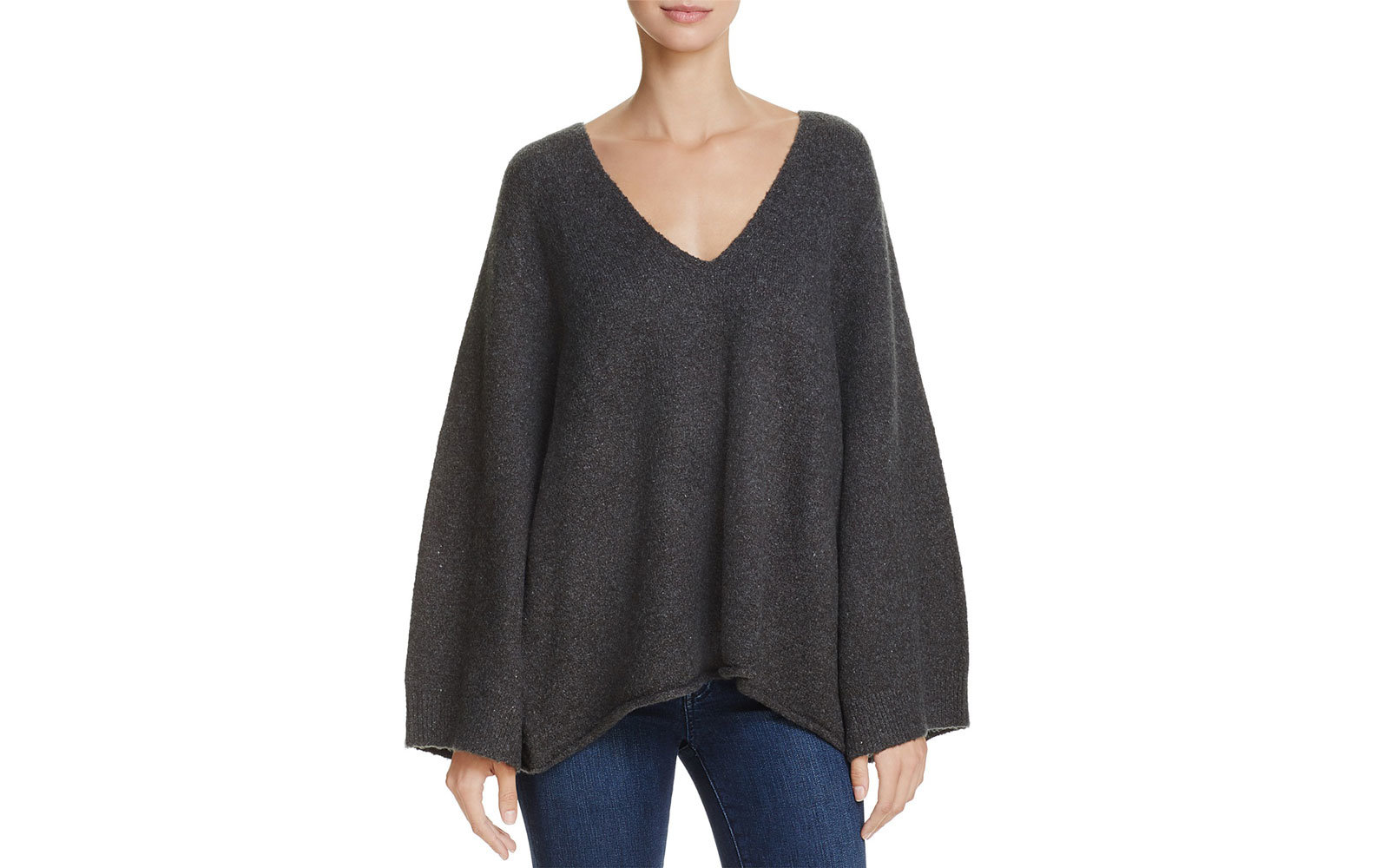 French Connection's Urban Flossy Slouchy Flared-Sleeve Sweater