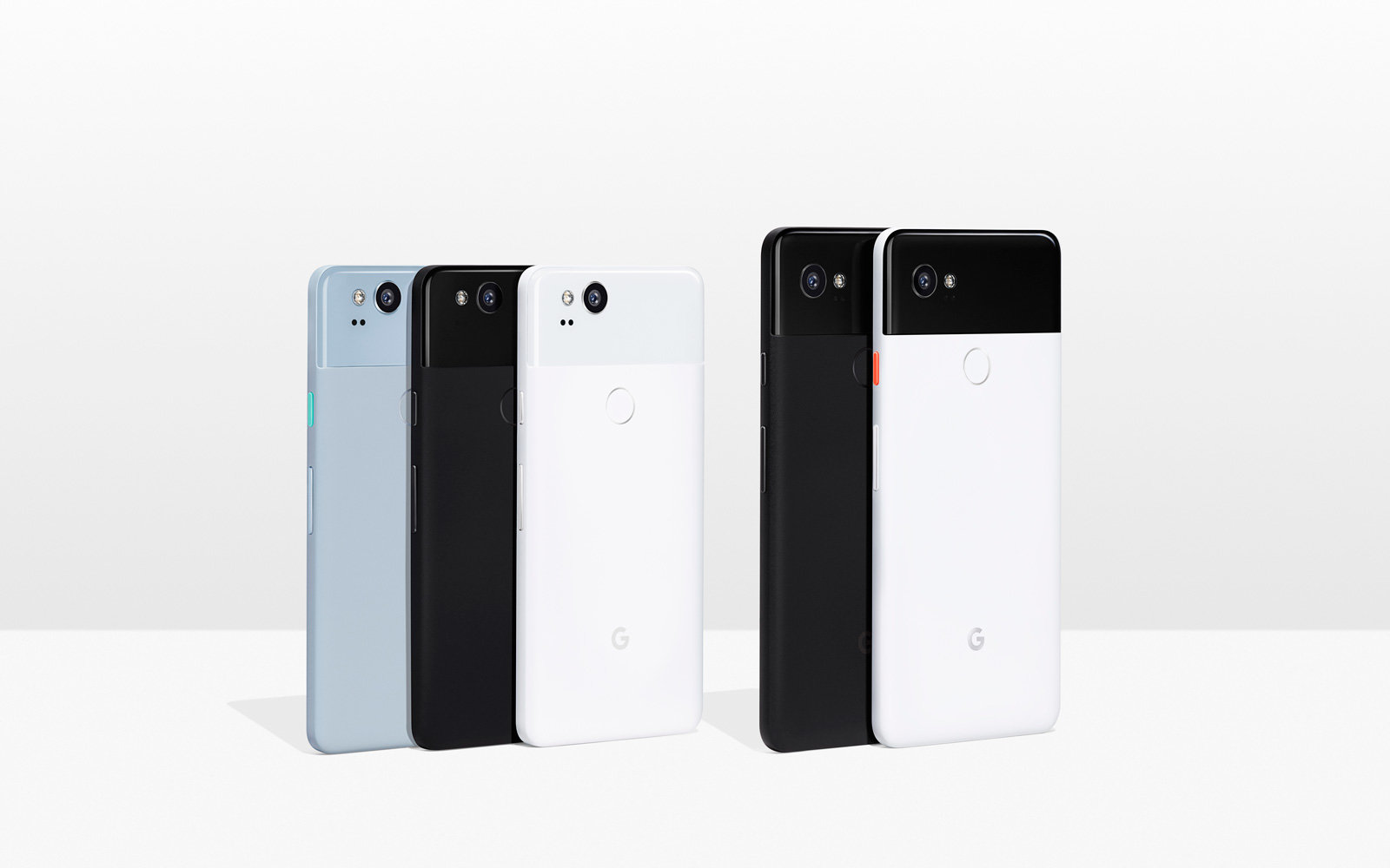 The Google Pixel 2 and Google Pixel 2 XL.