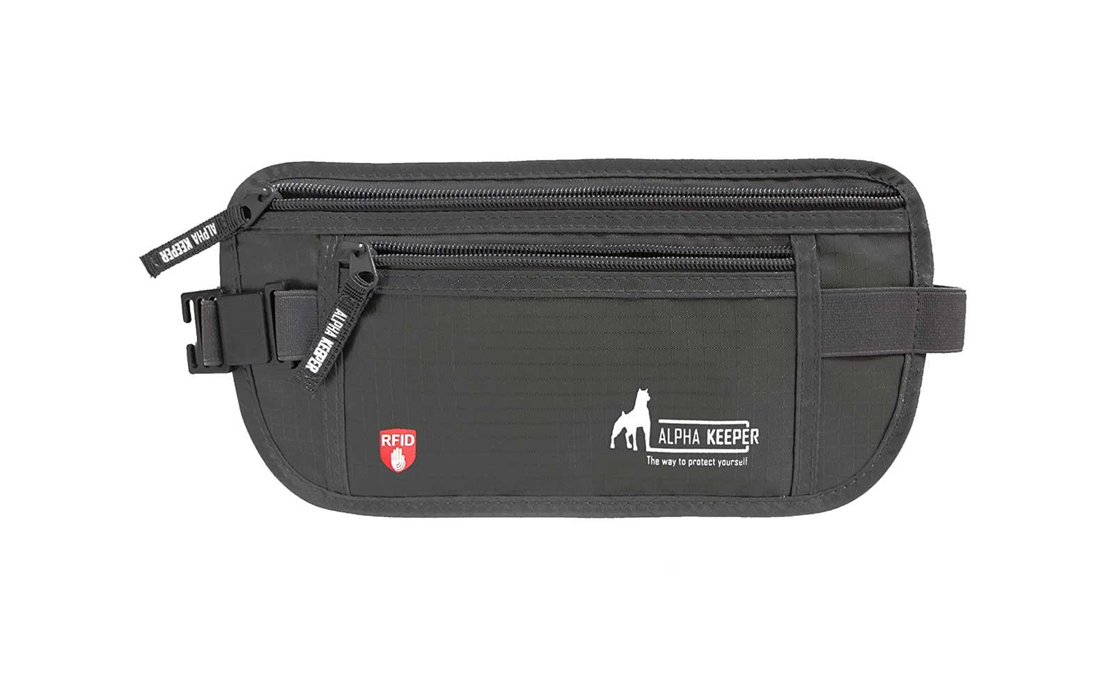 Alpha Keeper- Rfid Money Belt