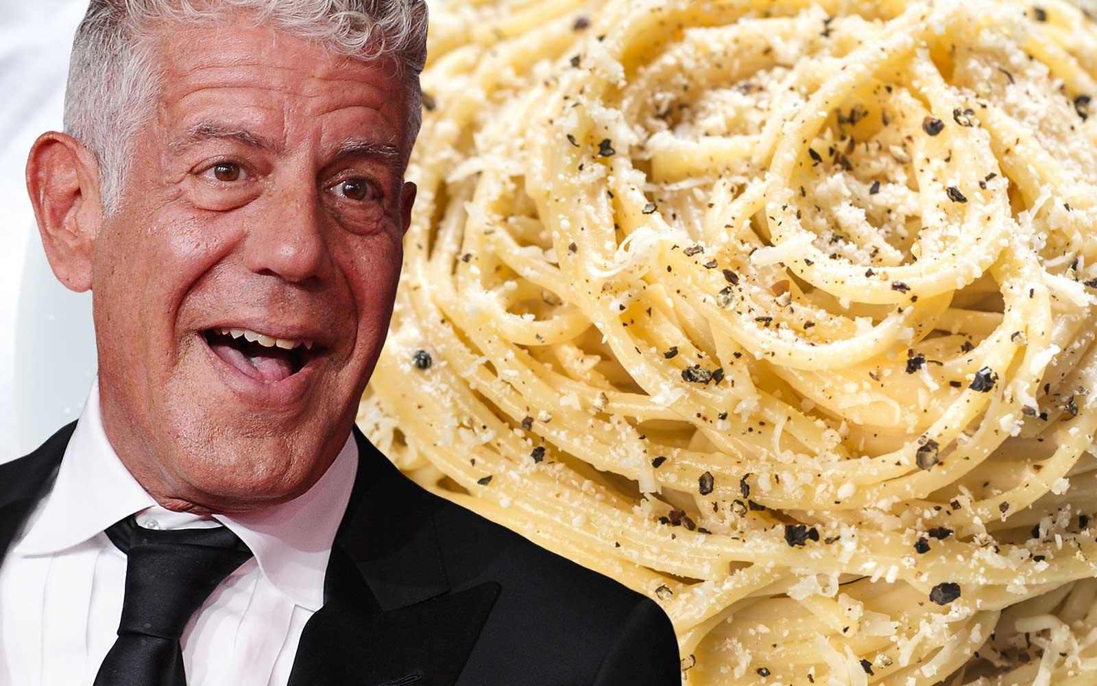Anthony Bourdain and His Favorite Pasta