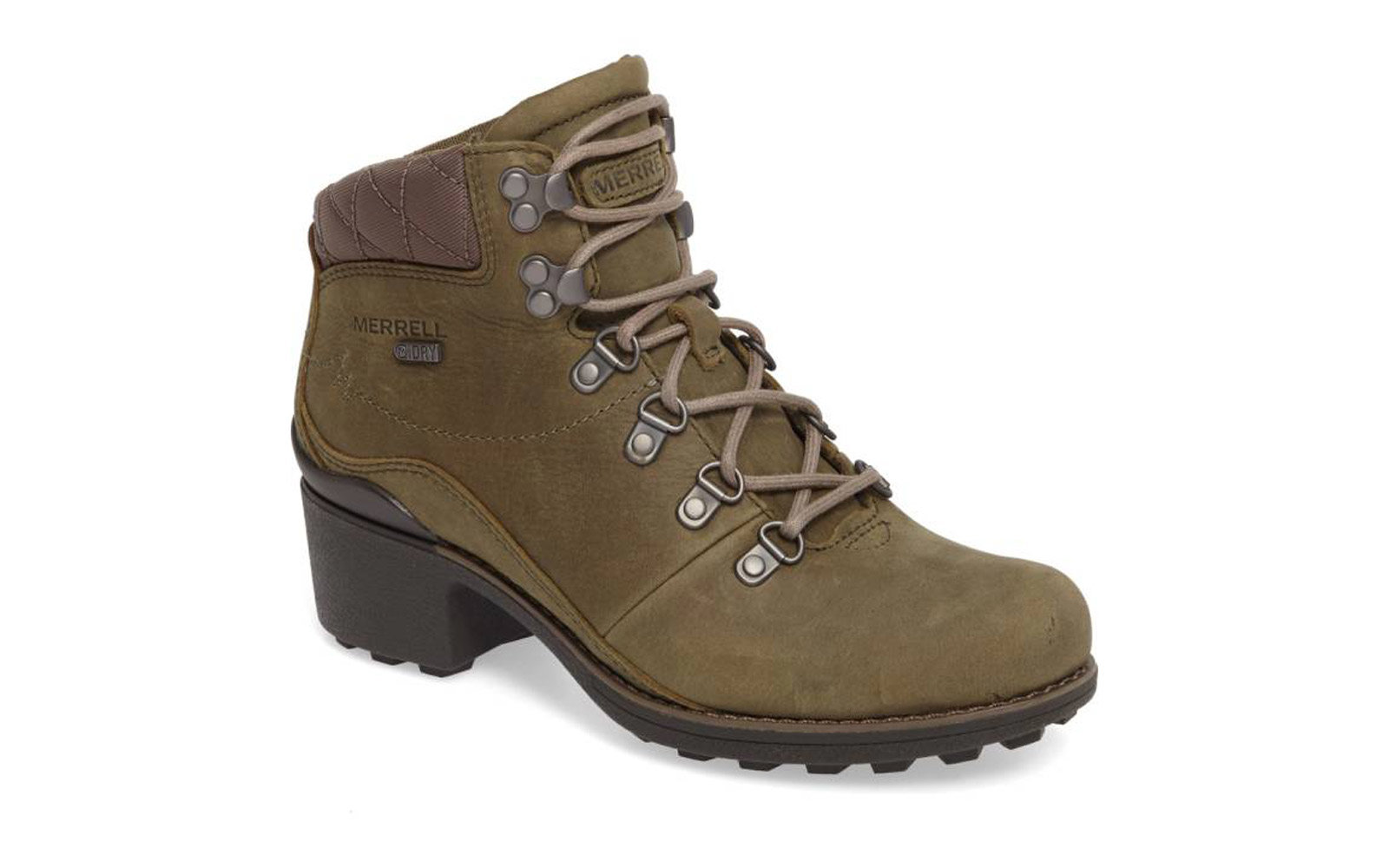 Merrell Chateau Mid Lace Waterproof Bootie
