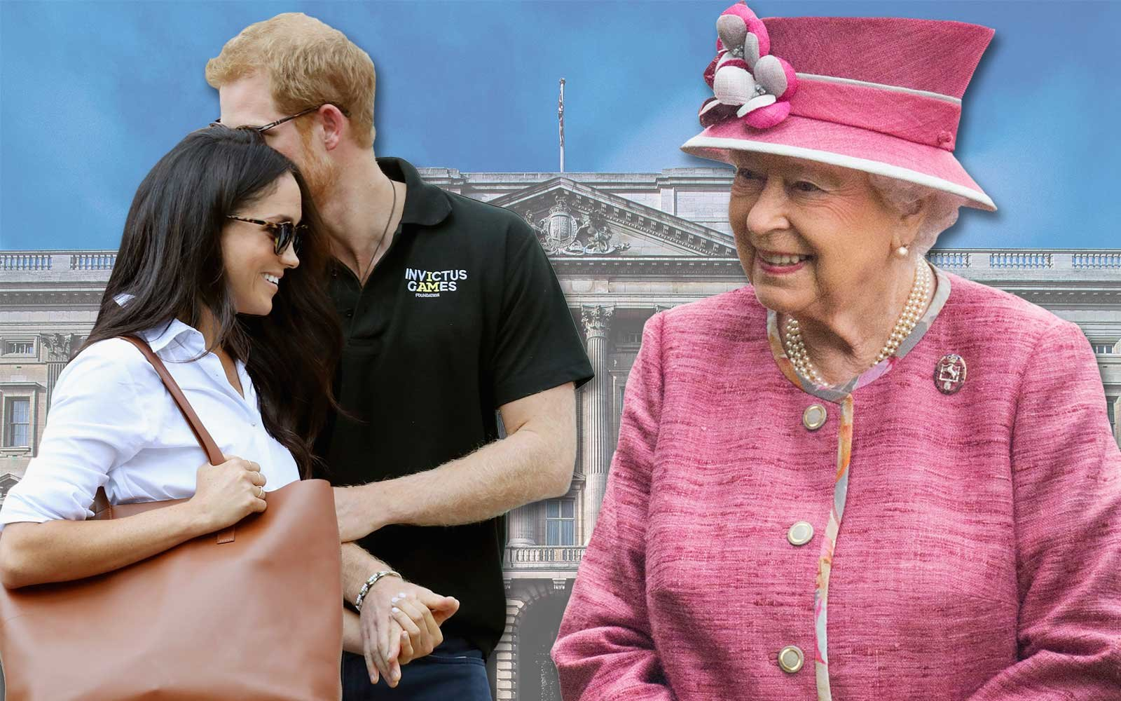Prince Harry and Meghan Markle Meet Queen