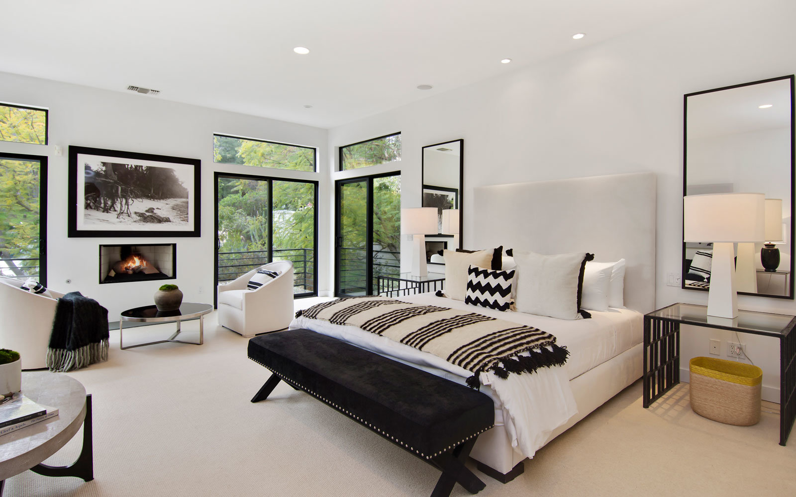 beverly hills rental bedroom