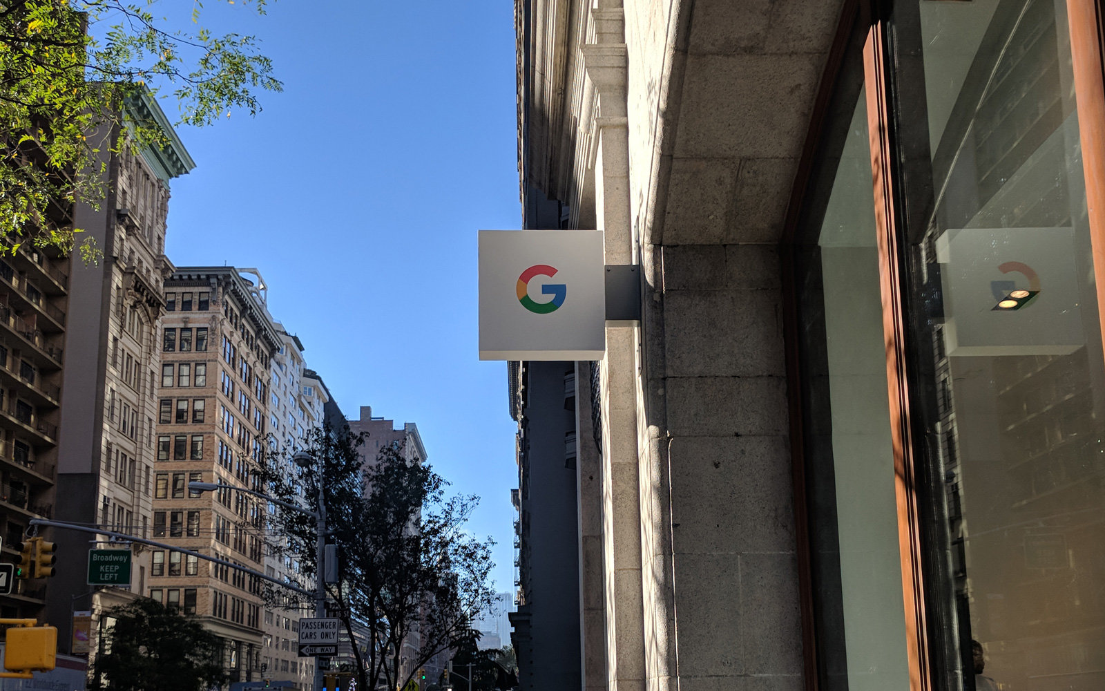 Google store in New York City.