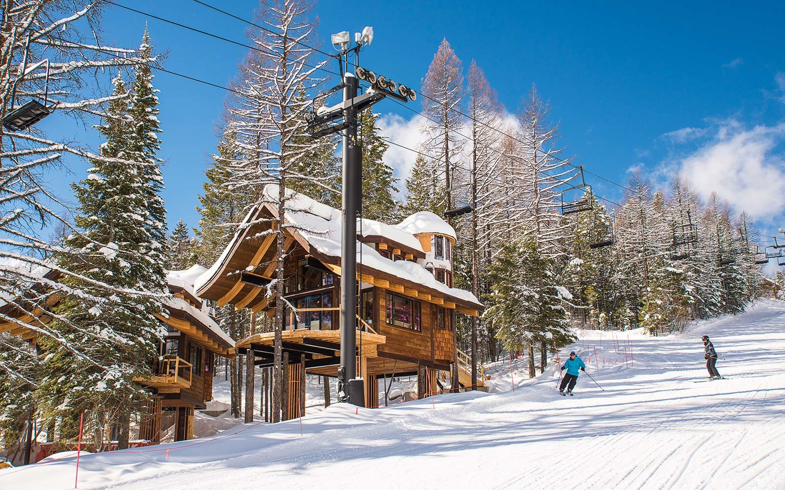 These Luxury Ski In Treehouses Will Help You Make The