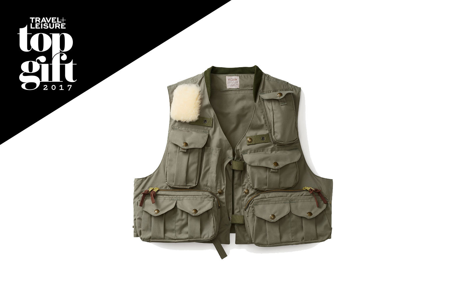 Filson fishing vest