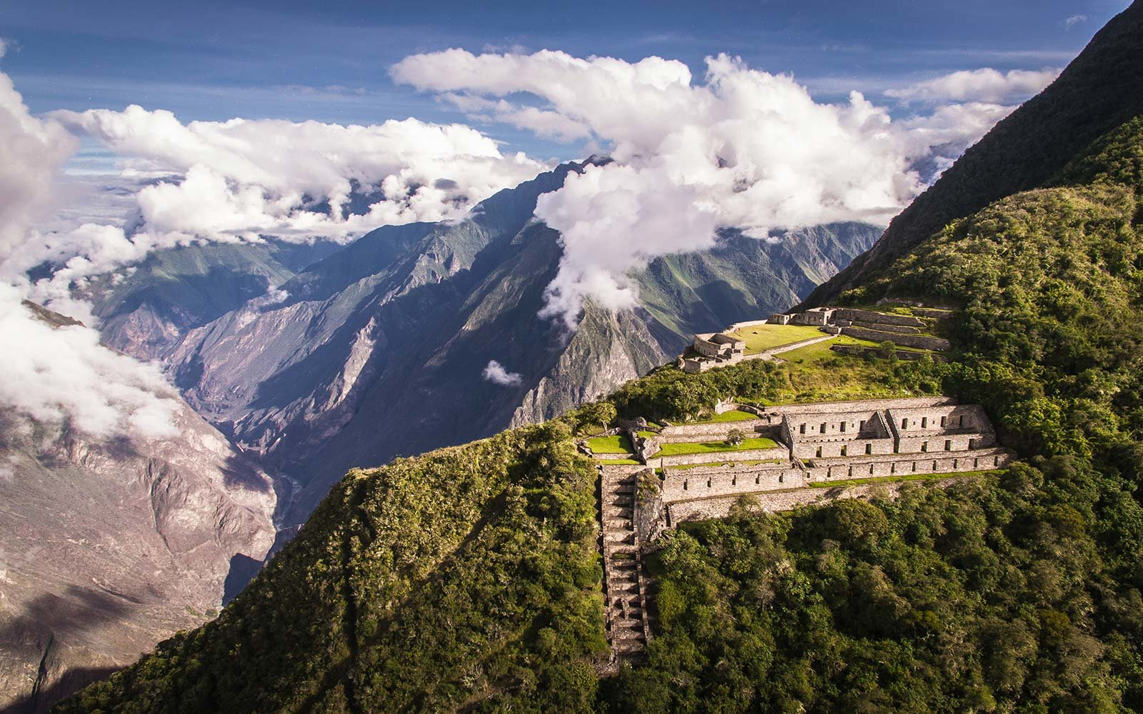 choquequirao machu picchu alternative treks peru