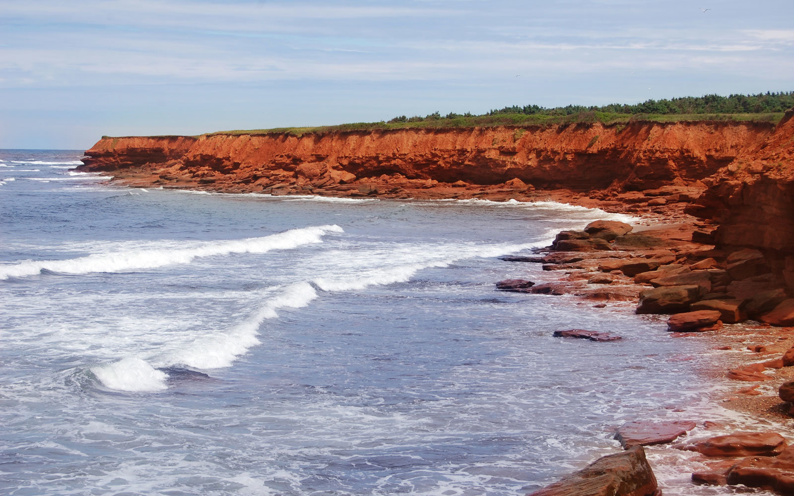 Red Stone Beach, PEI