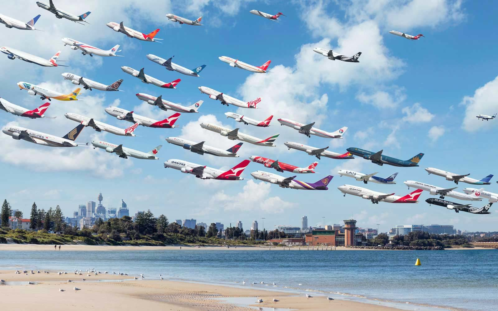 mike michael kelley airportrait photography airplane flight