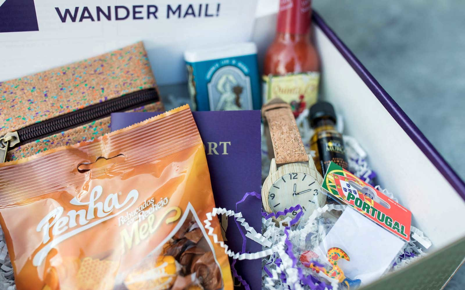 WanderAway Travel Subscription Box