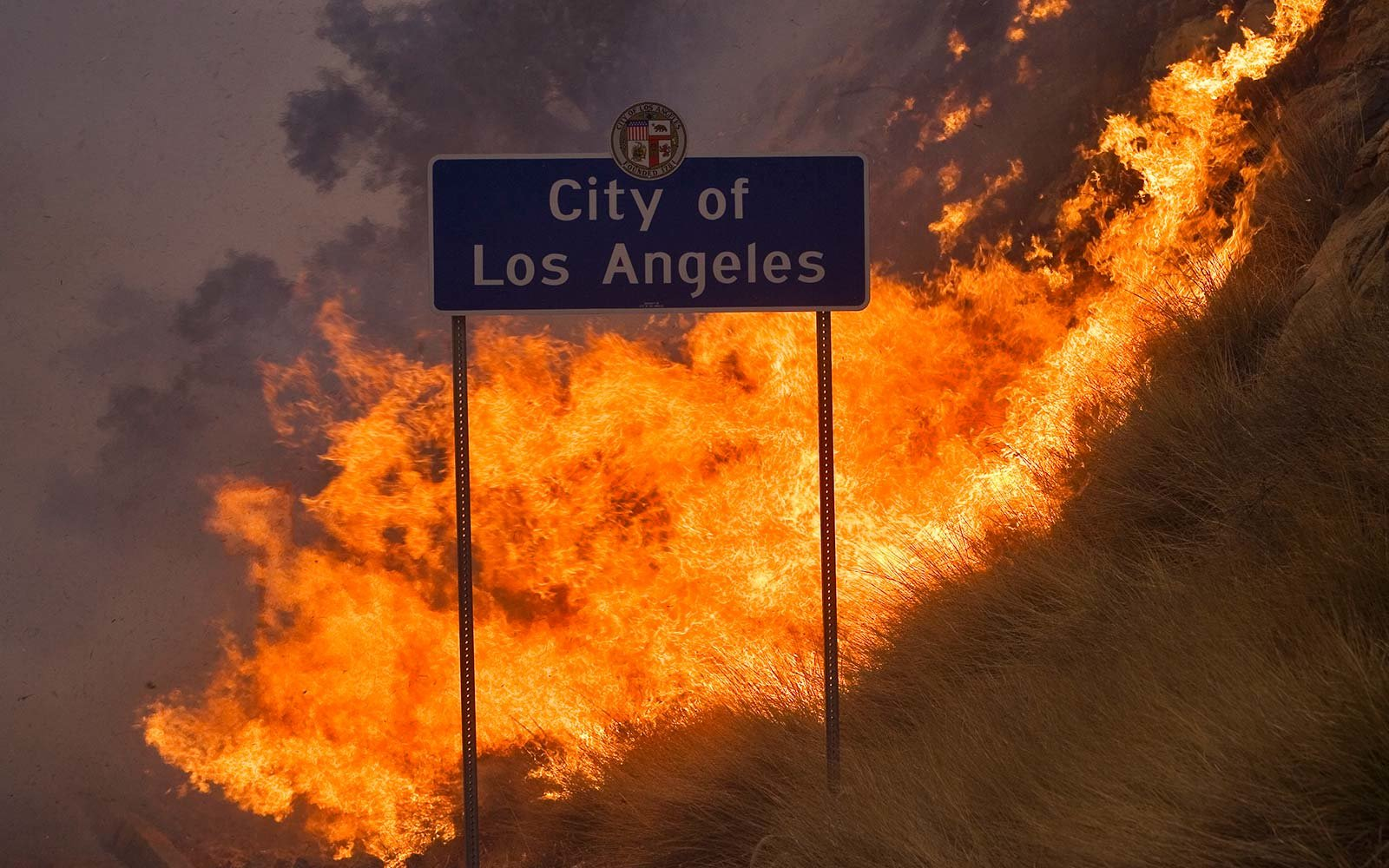 santa ana weather wind wild fire los angeles southern california
