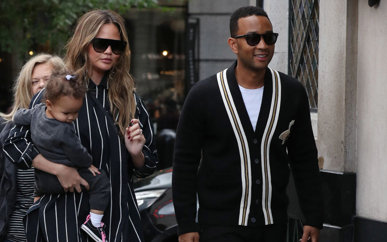 John Legend and Chrissy Teigen Sighting -  September 11, 2017