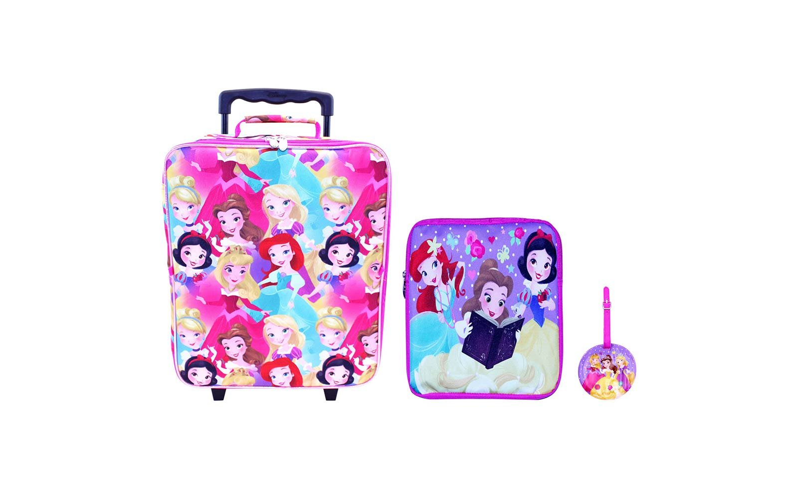 disney princess luggage set suitcase