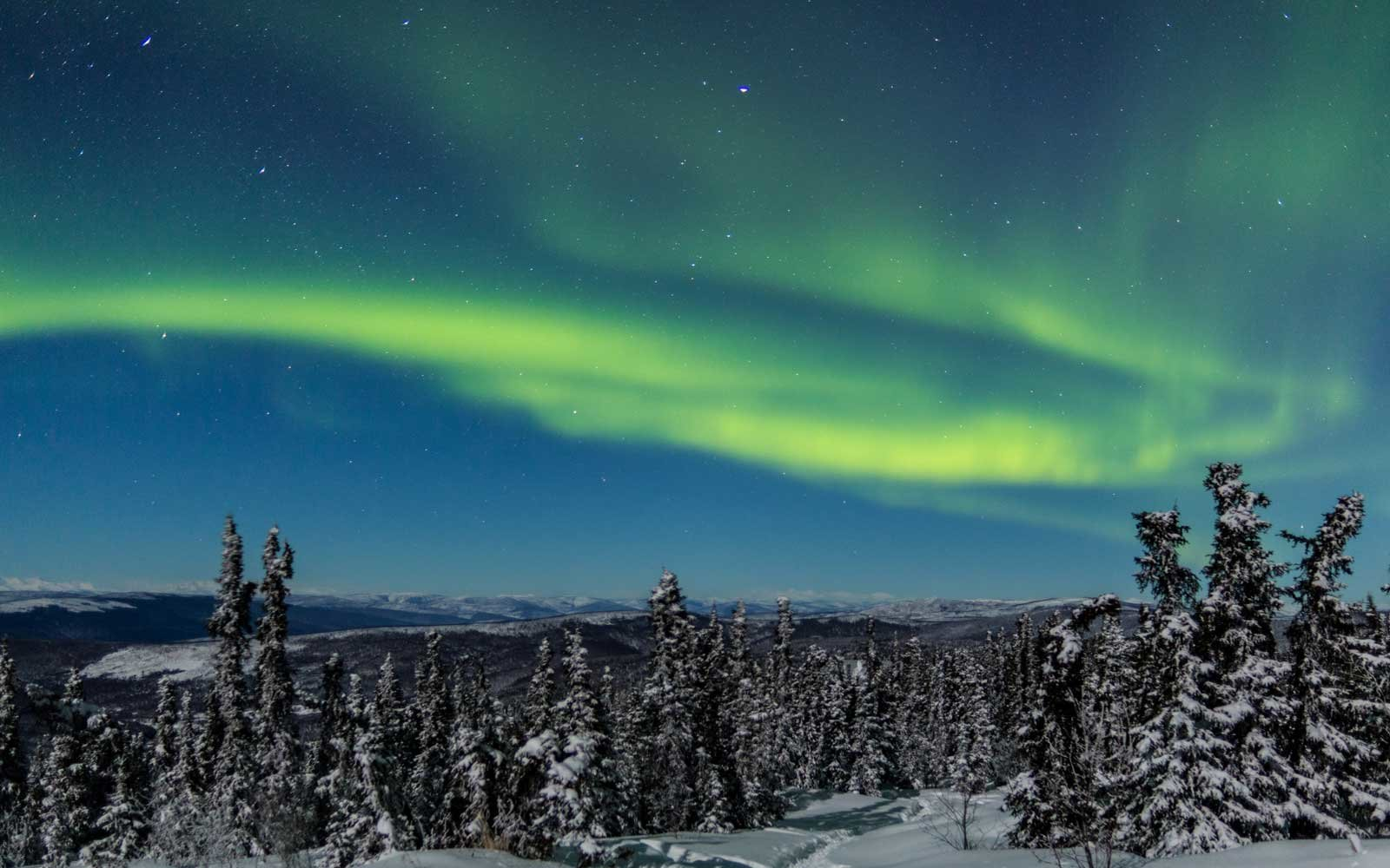 Best Time To See Northern Lights In Alaska 2019 See Alaska's Northern Lights – Winter 2018 and 2019 | Travel + Leisure