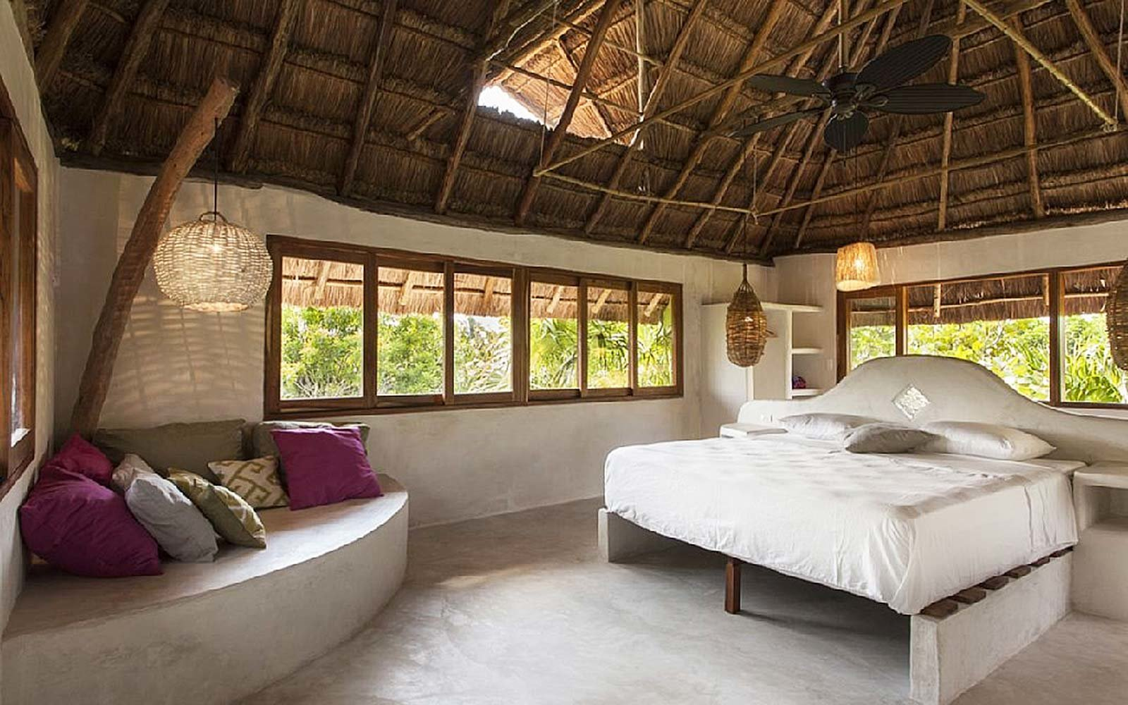airbnb rental seaside villa tulum mexico