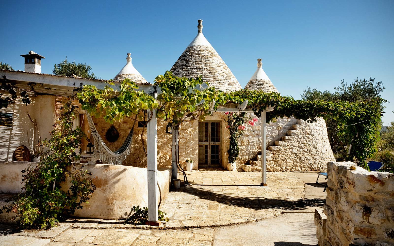 ostuni trullo italy airbnb rental travel holiday