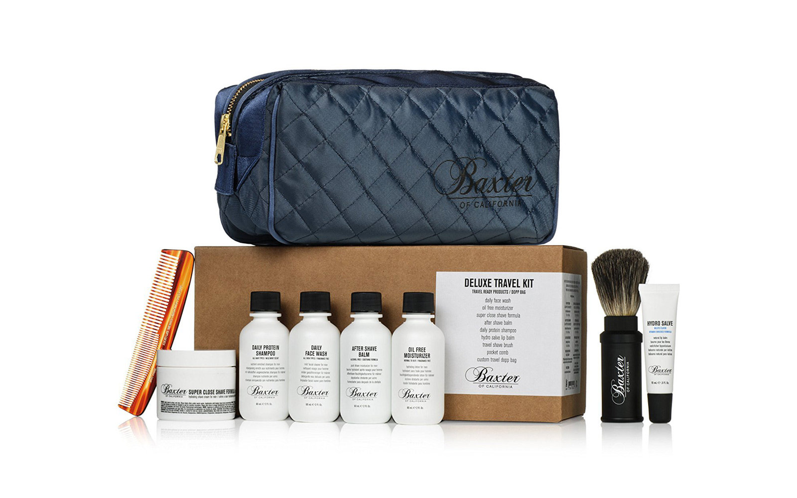 Baxter of California Deluxe Travel Kit