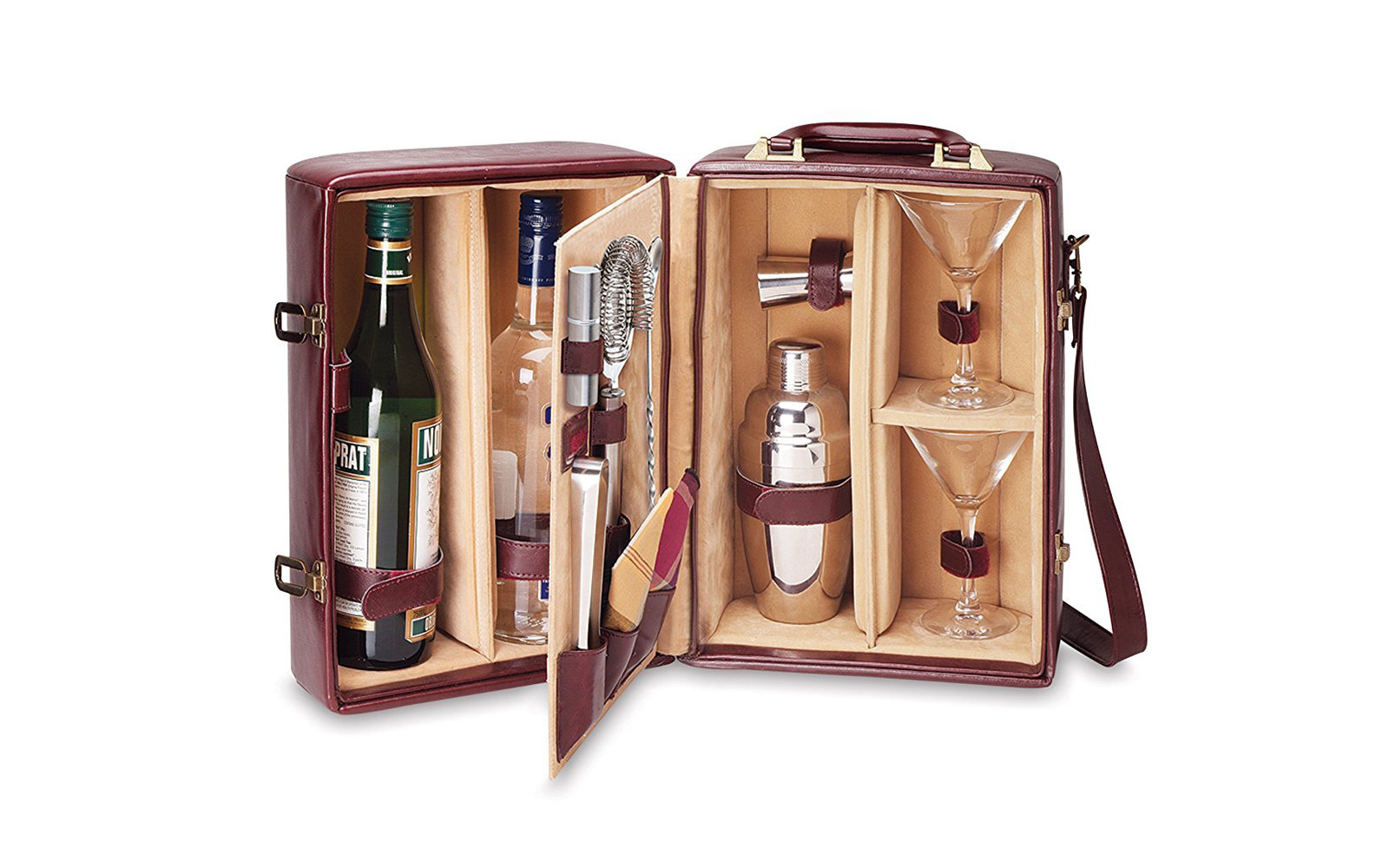 Picnic Time Manhattan Insulated Two Bottle Cocktail Set