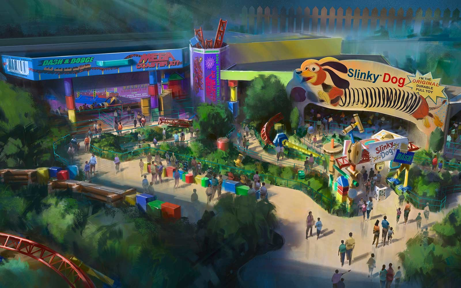 disney world just revealed exciting new details about toy story land travel leisure. Black Bedroom Furniture Sets. Home Design Ideas