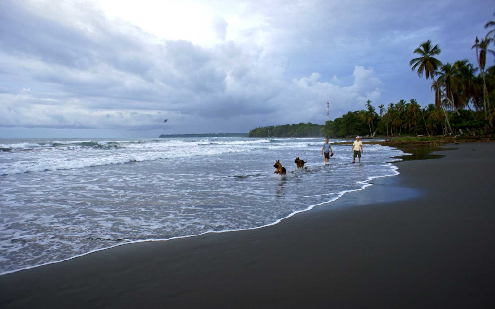 Where on earth to find a black sand beach travel leisure for Black sand beaches costa rica