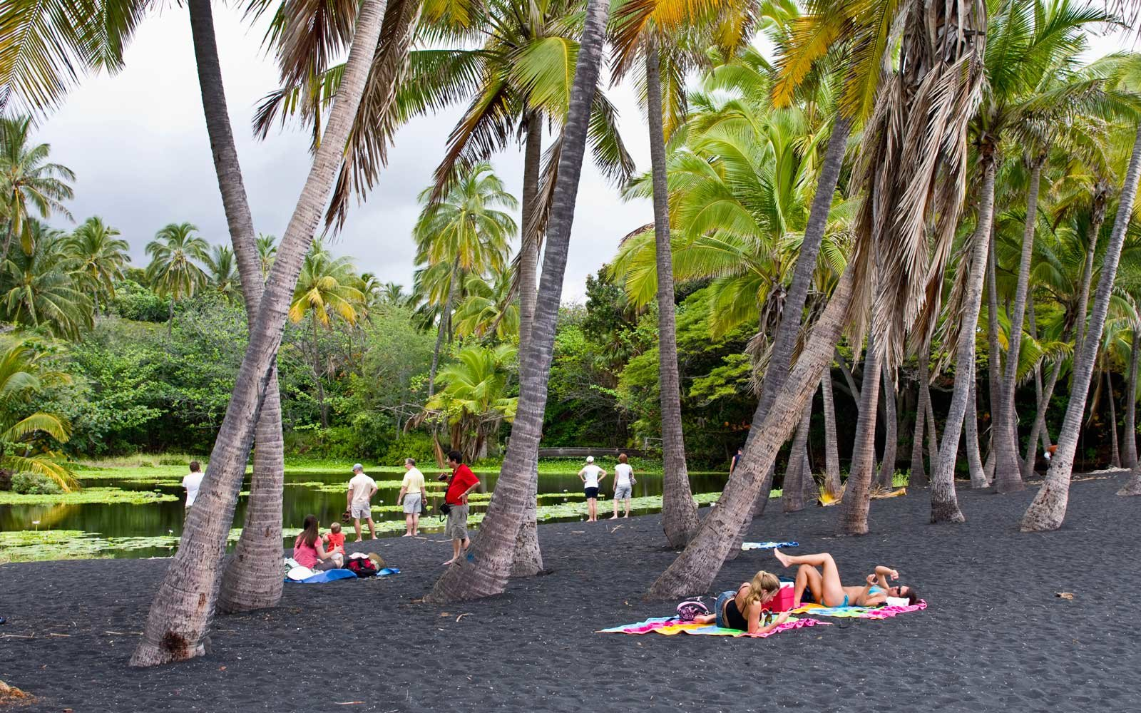 Where On Earth To Find A Black Sand Beach