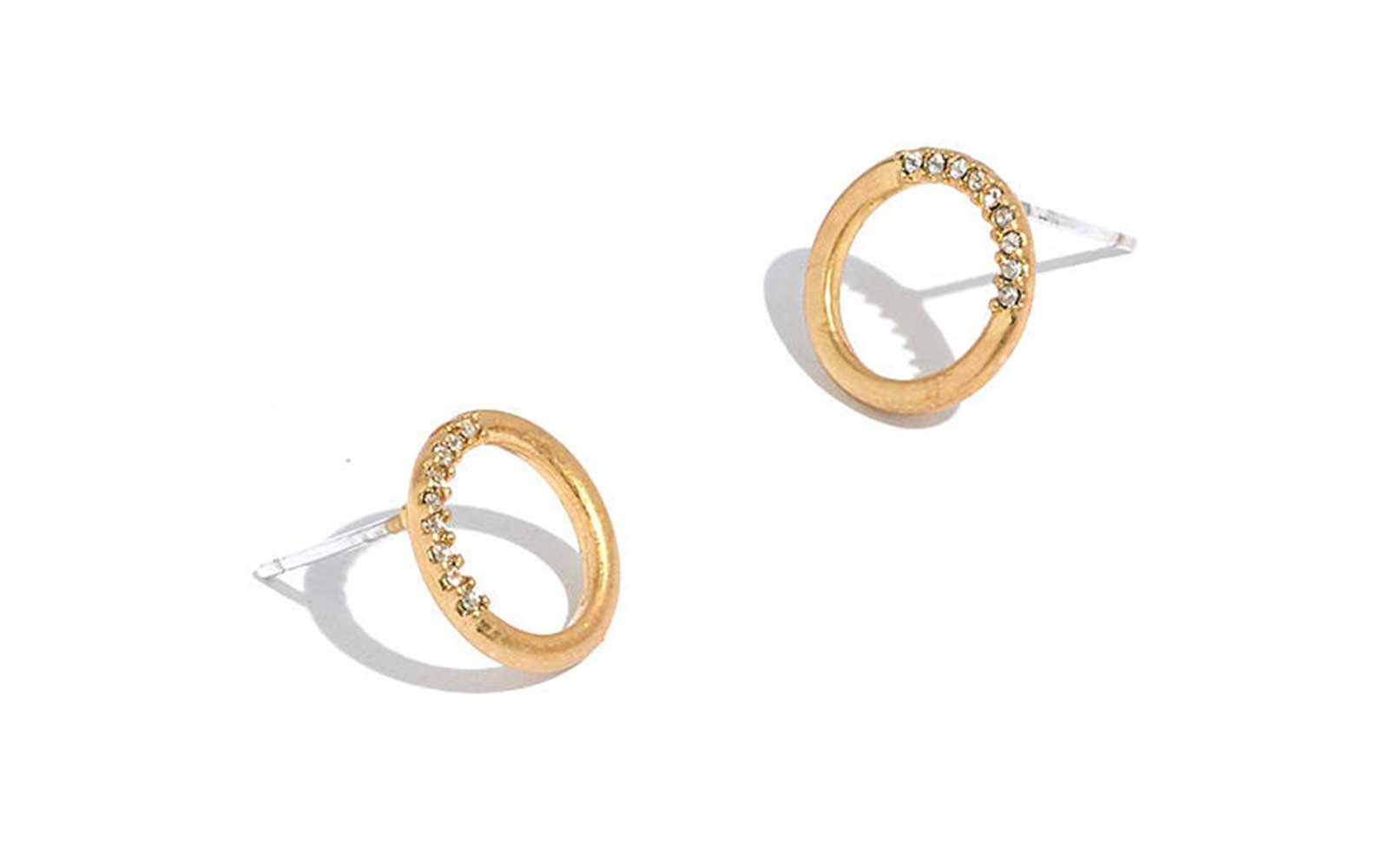 Madewell Circle Stud Earrings