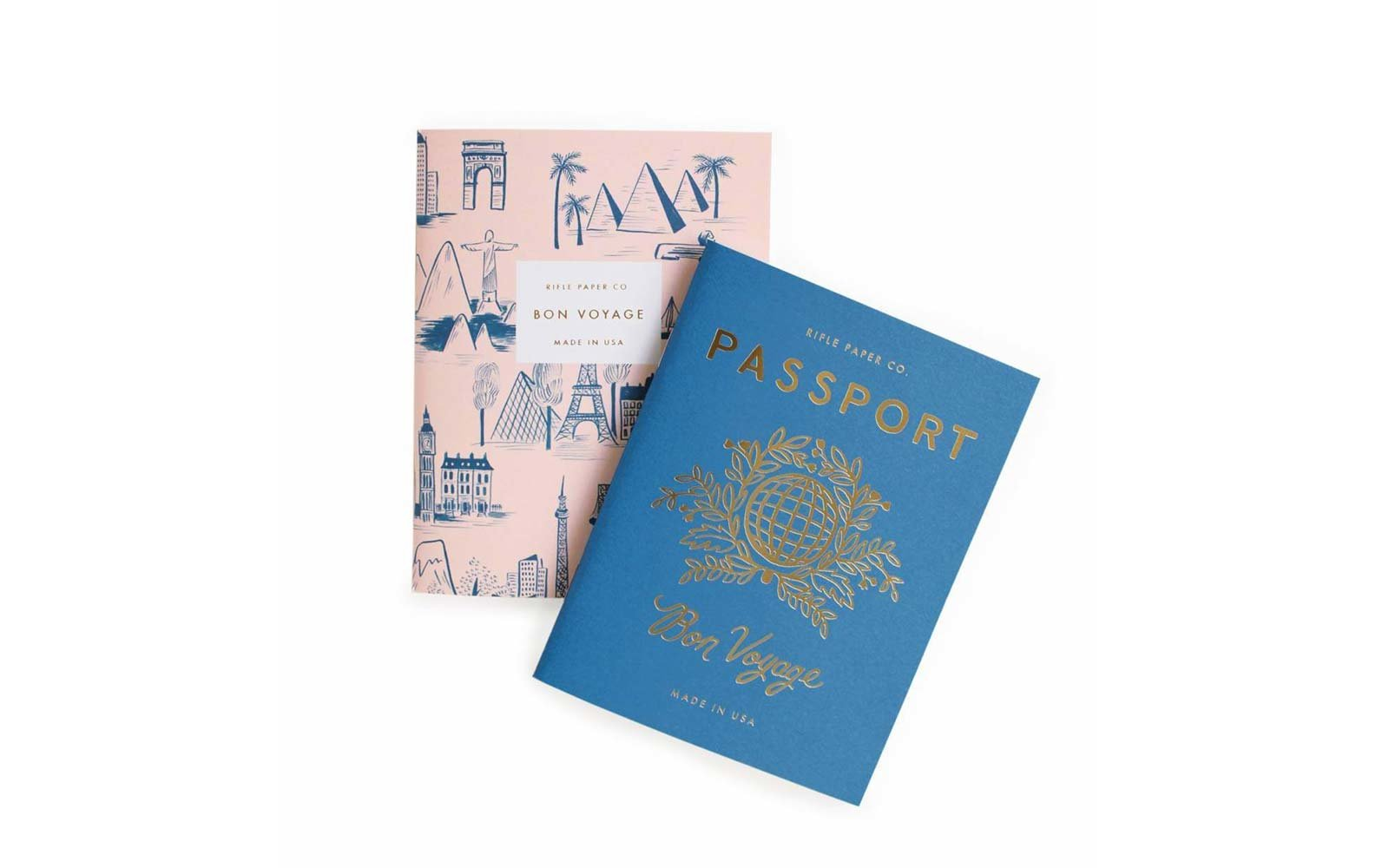 rifle paper co travel notebooks
