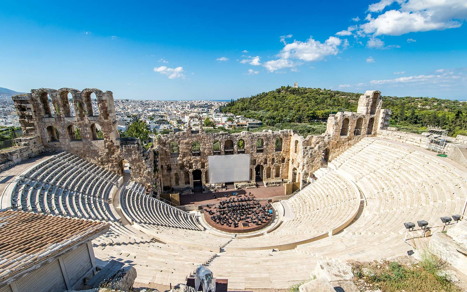odeon of herodes atticus athens greece