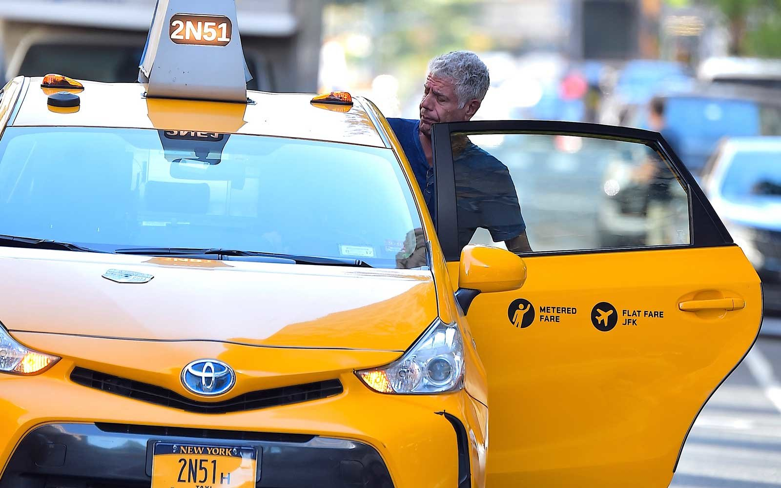 Anthony Bourdain in NYC