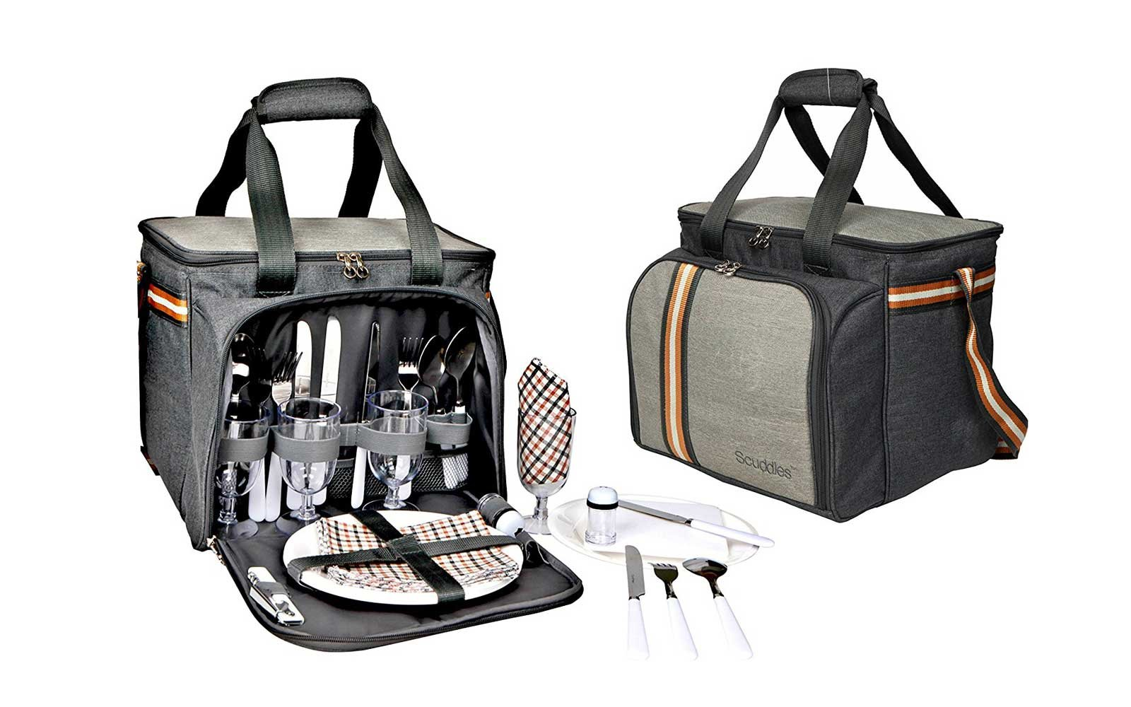 Picnic Basket Travel Backpack