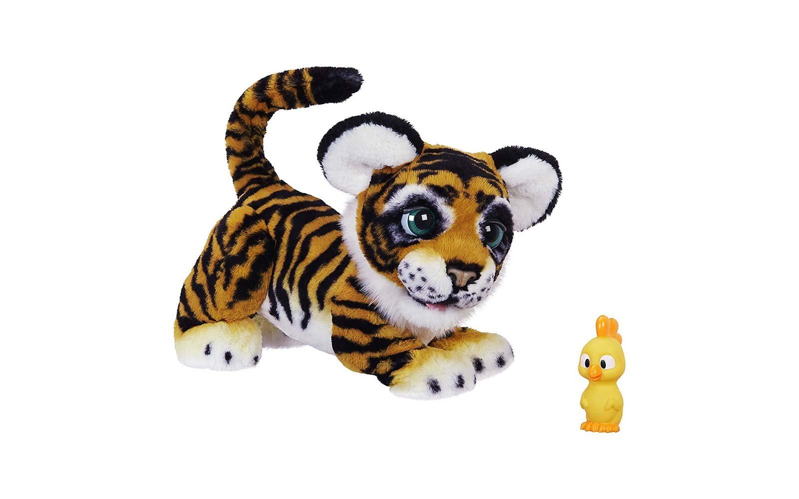 furreal roarin tyler playful tiger robotic doll toy