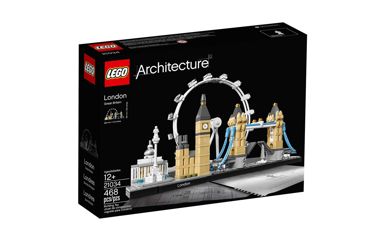 lego architecture toy set london