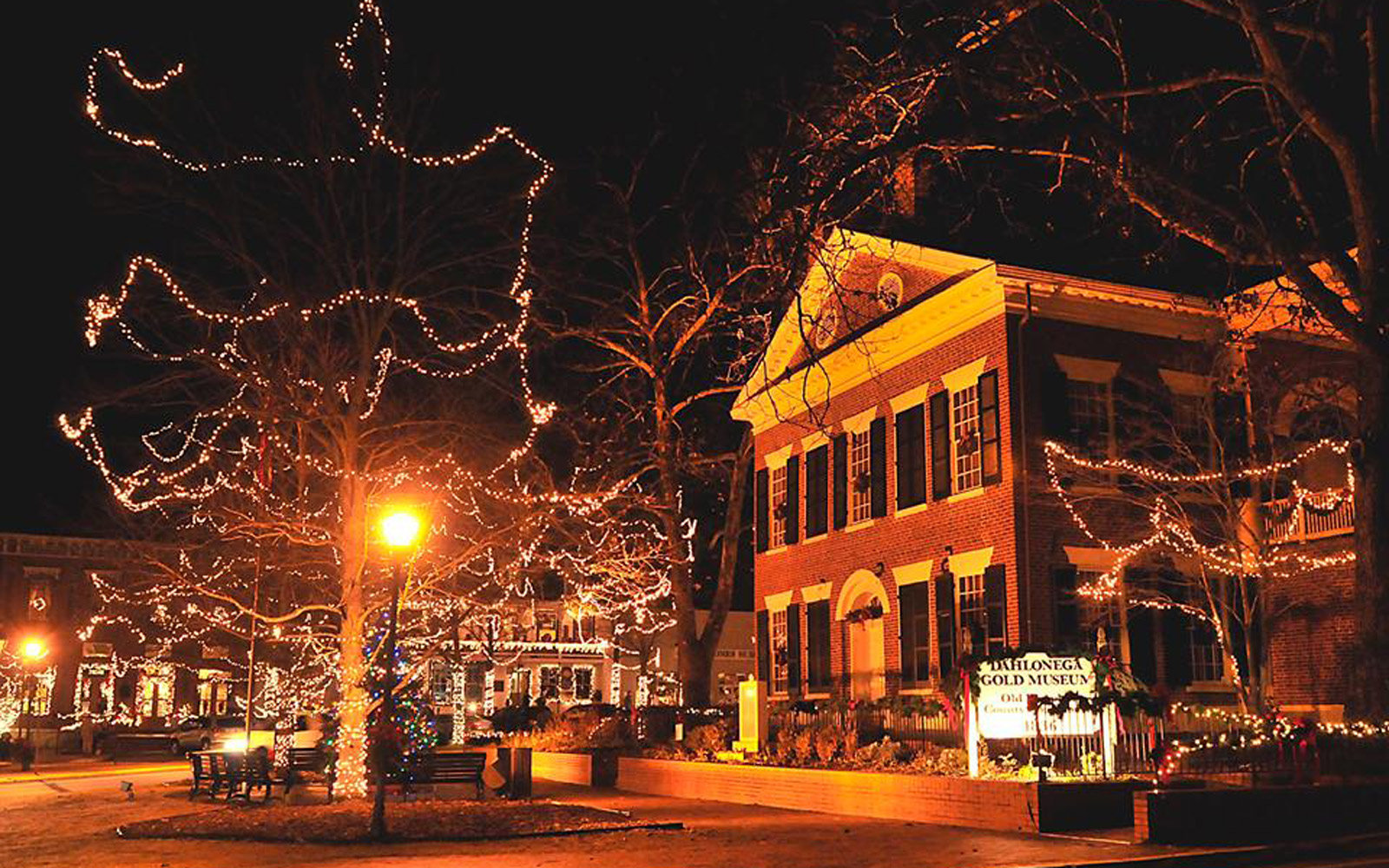 Dahlonega, Georgia at Christmas