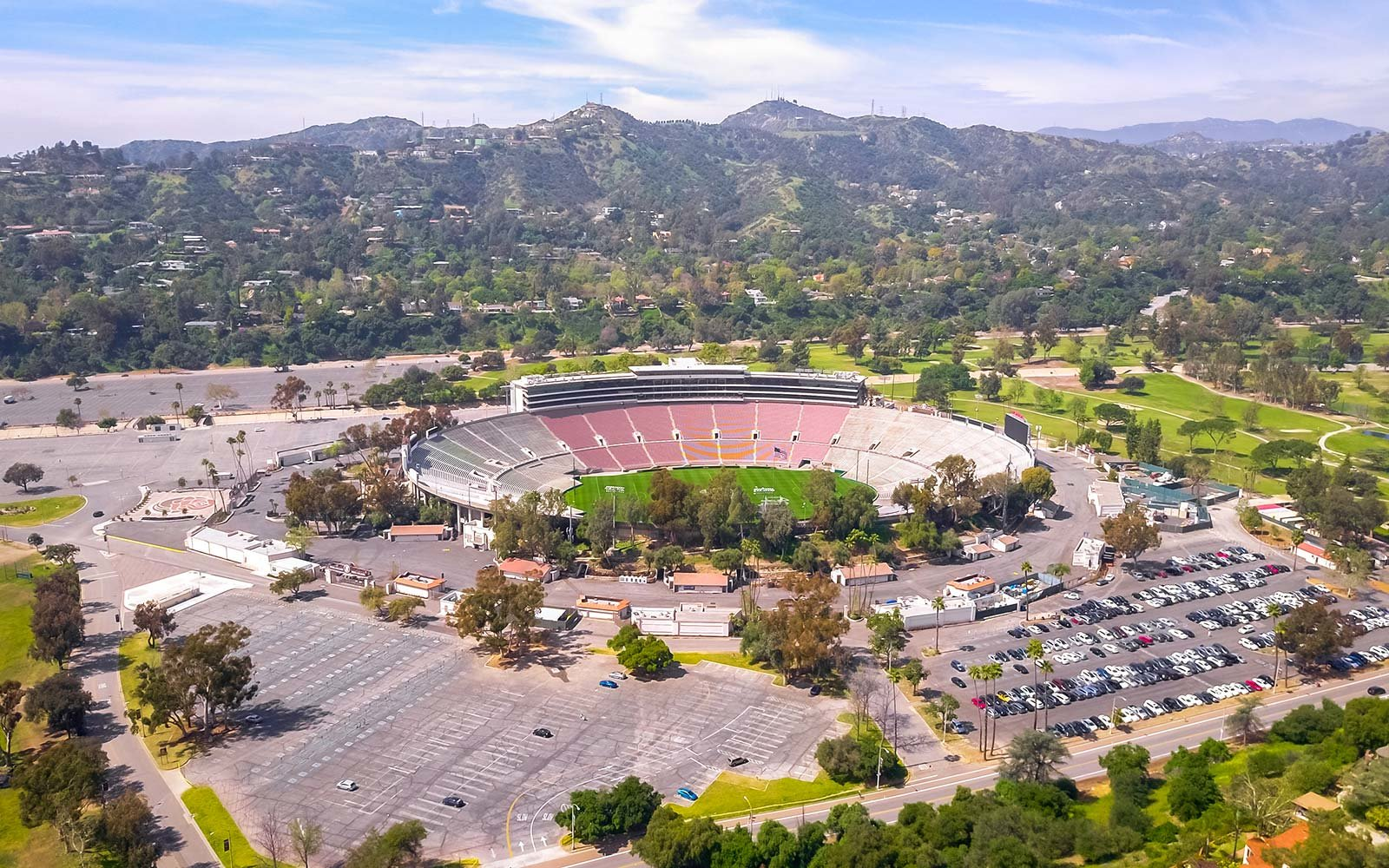 rose bowl football stadium los angeles california sports