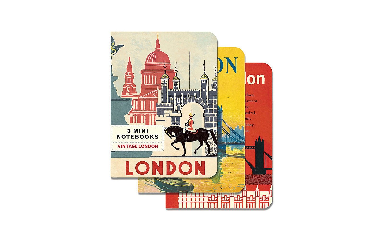 Vintage London Mini Notebooks