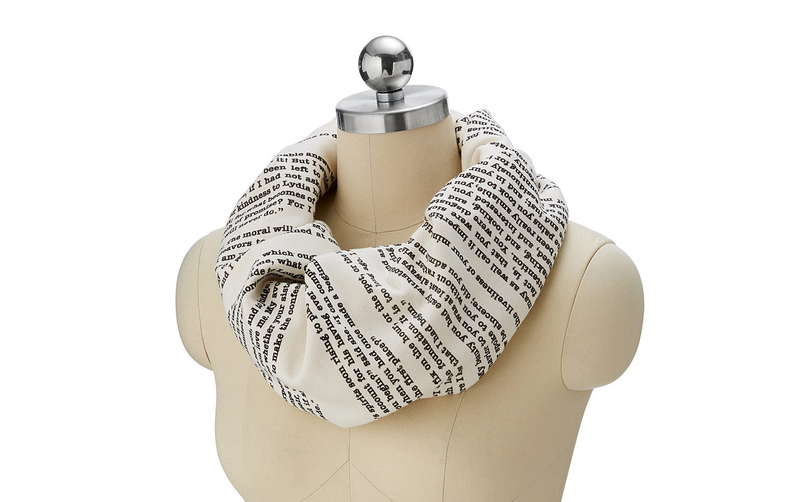Uncommon Goods Literary Scarves