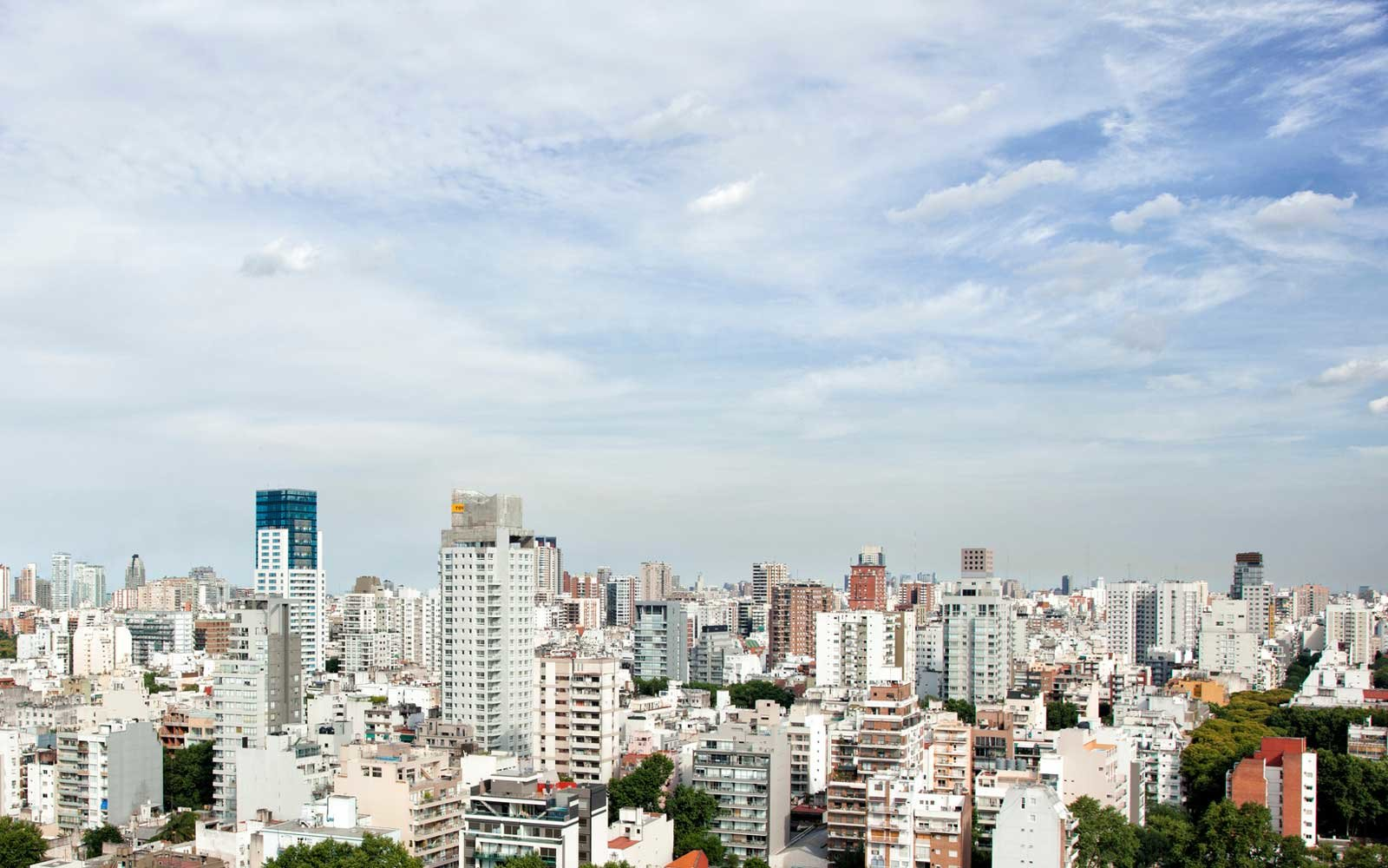 City view of Buenos Aires, Argentina