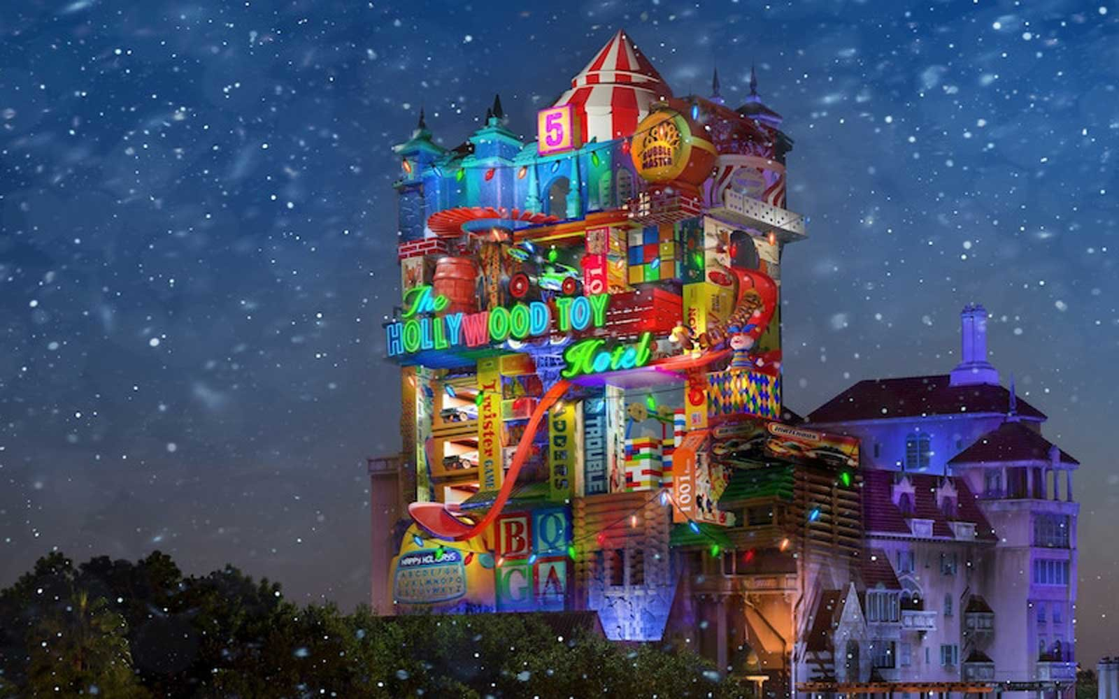 disney just gave us a sneak peak at the tower of terror s huge