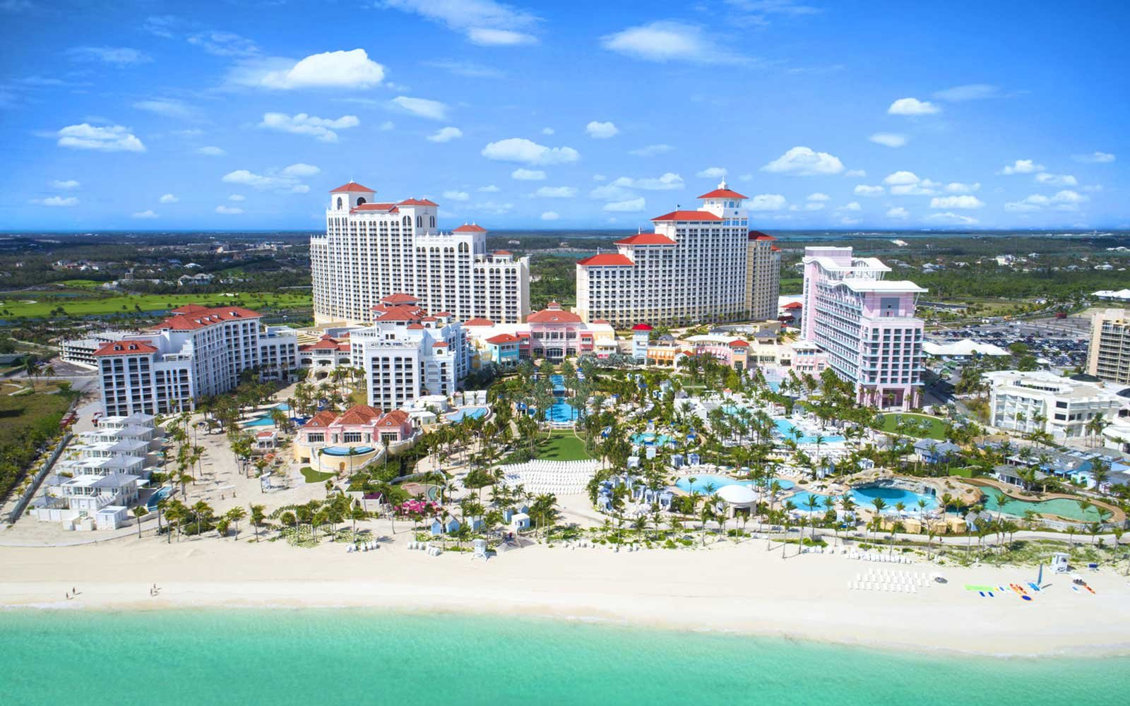 Baha Mar resort complex in the Bahamas