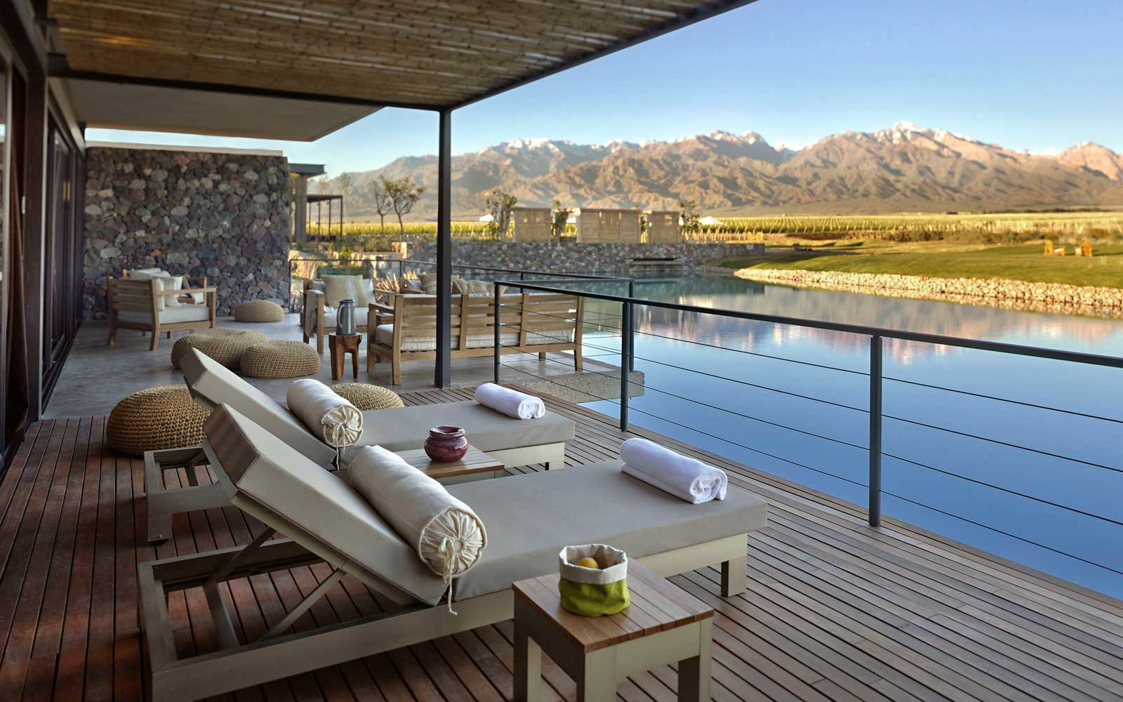 Villa view at Vines of Mendoza, in Argentina