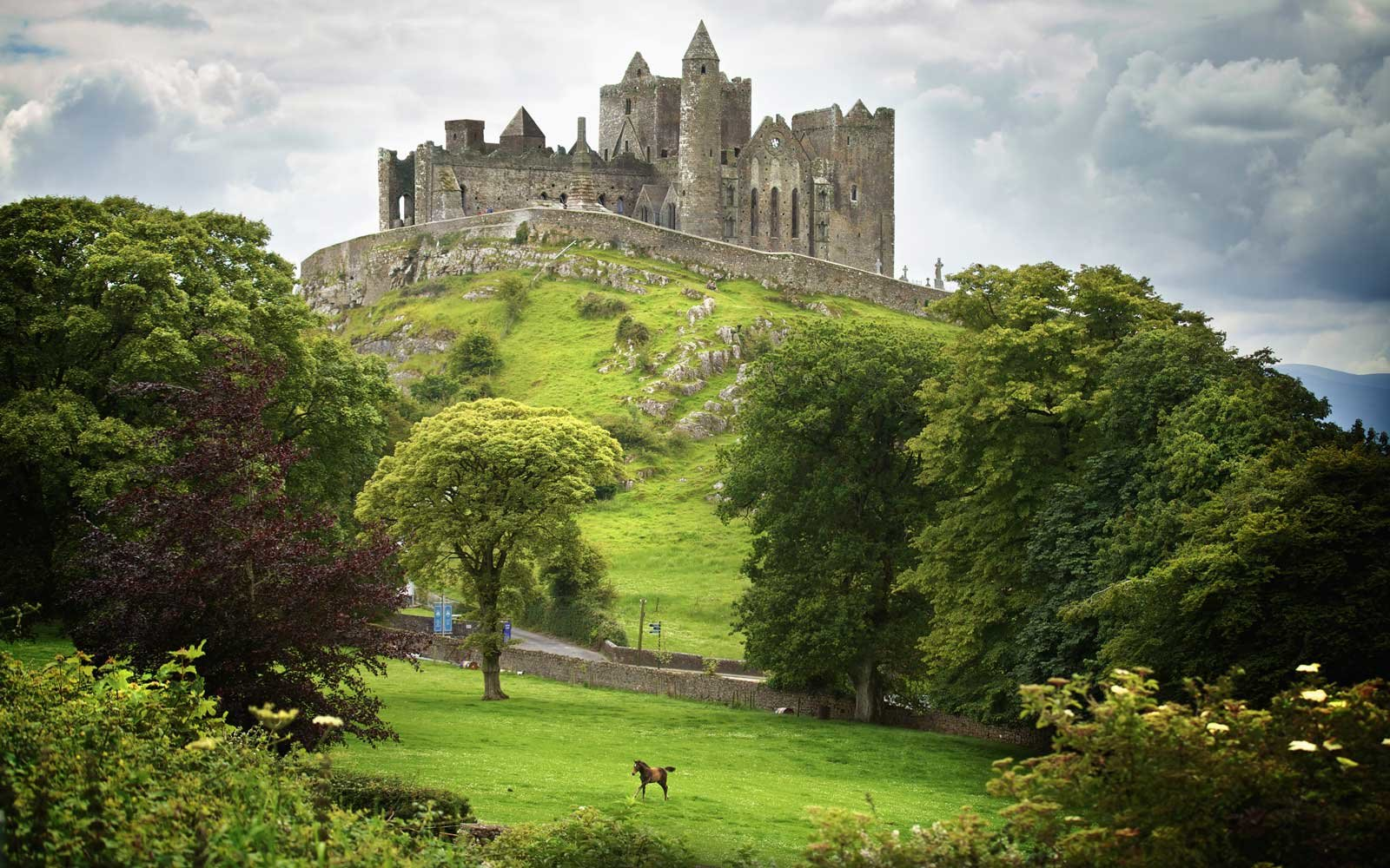 Rock of Cashel, in Tipperary, Ireland