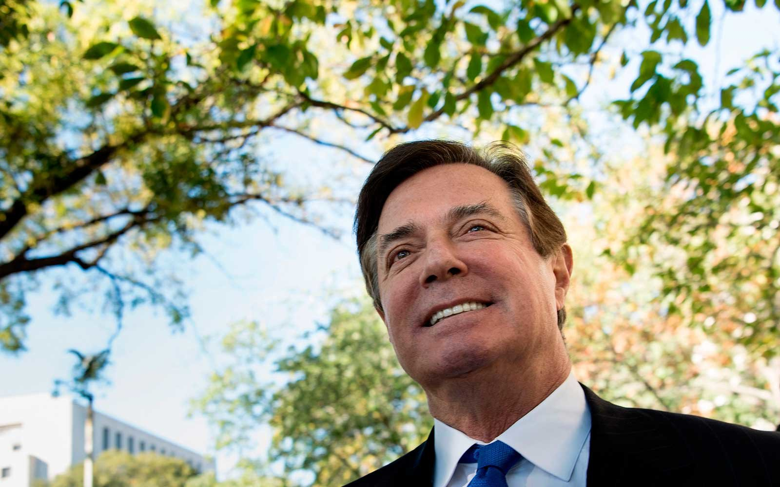 Paul Manafort is charged with conspiracy