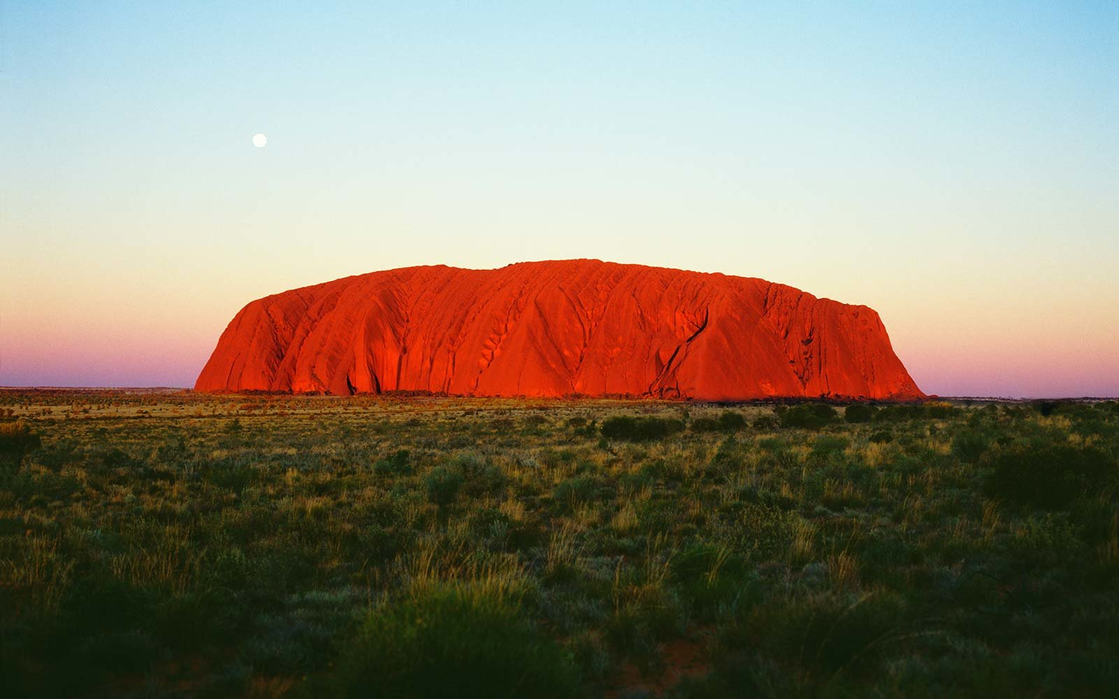 uluru rock landmark australia nature landscape