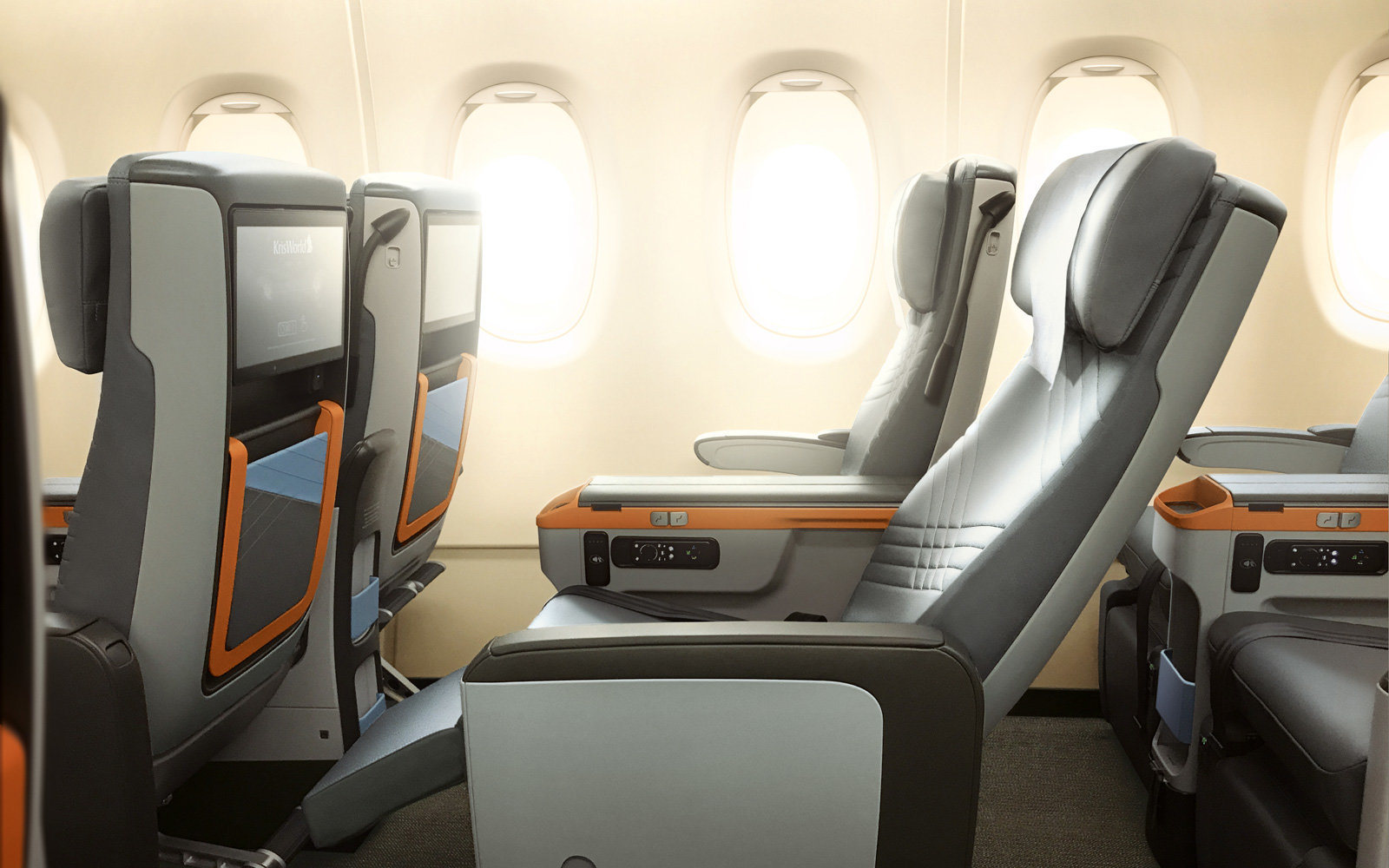 Singapore Airlines its new Airbus A380 design
