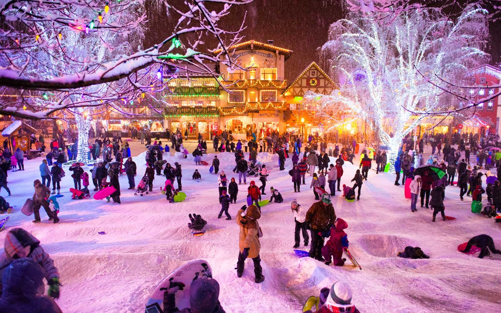 Bavarian Ice fest Leavenworth Washington