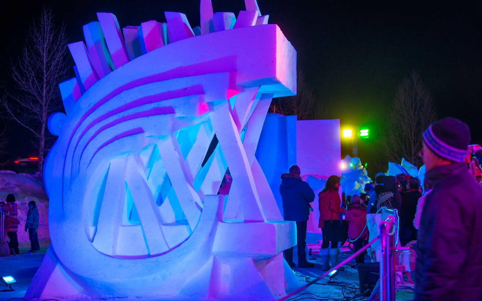 International Snow Sculpture Championship Breckenridge Colorado