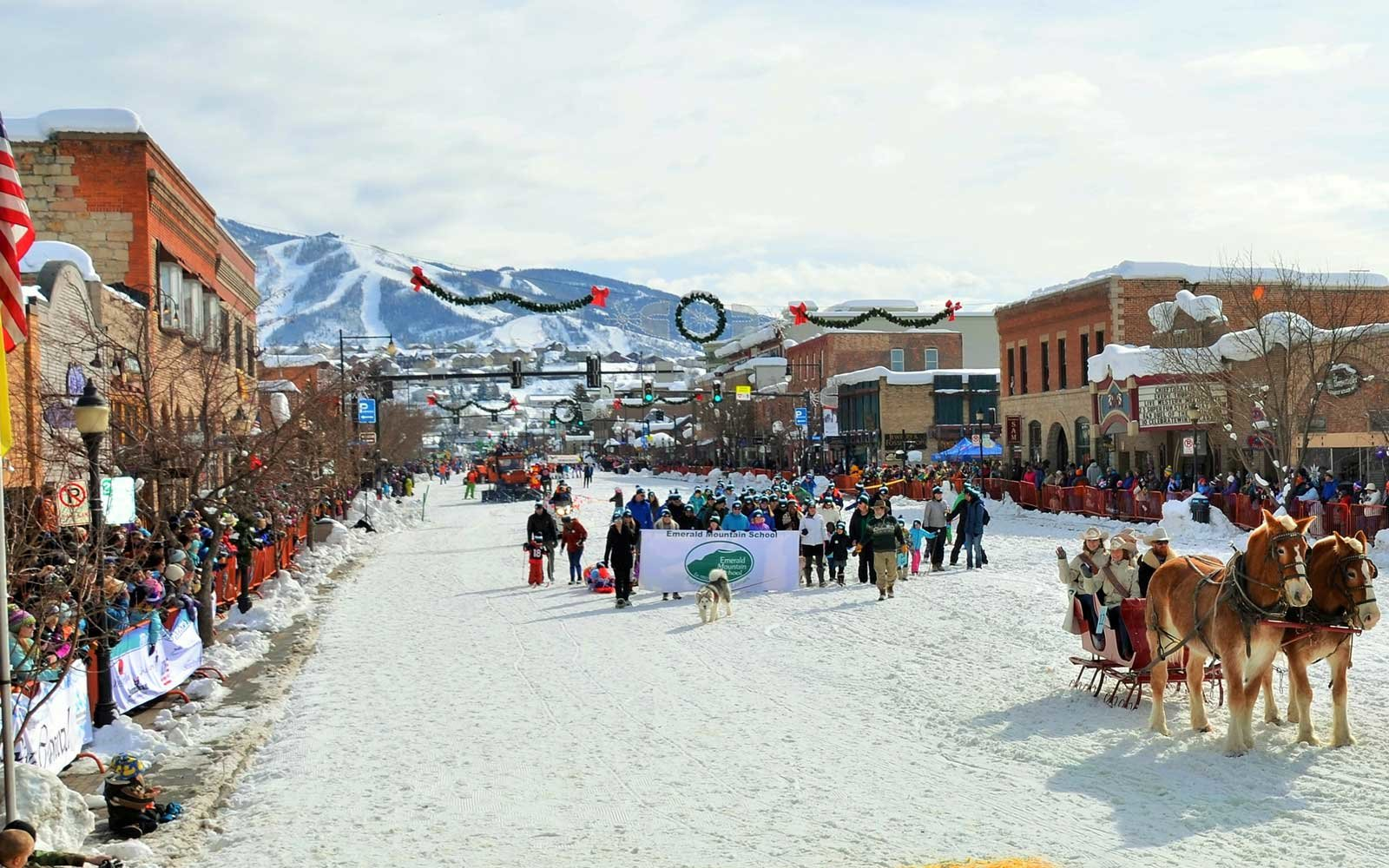 Steamboat Winter Carnival Springs Colorado