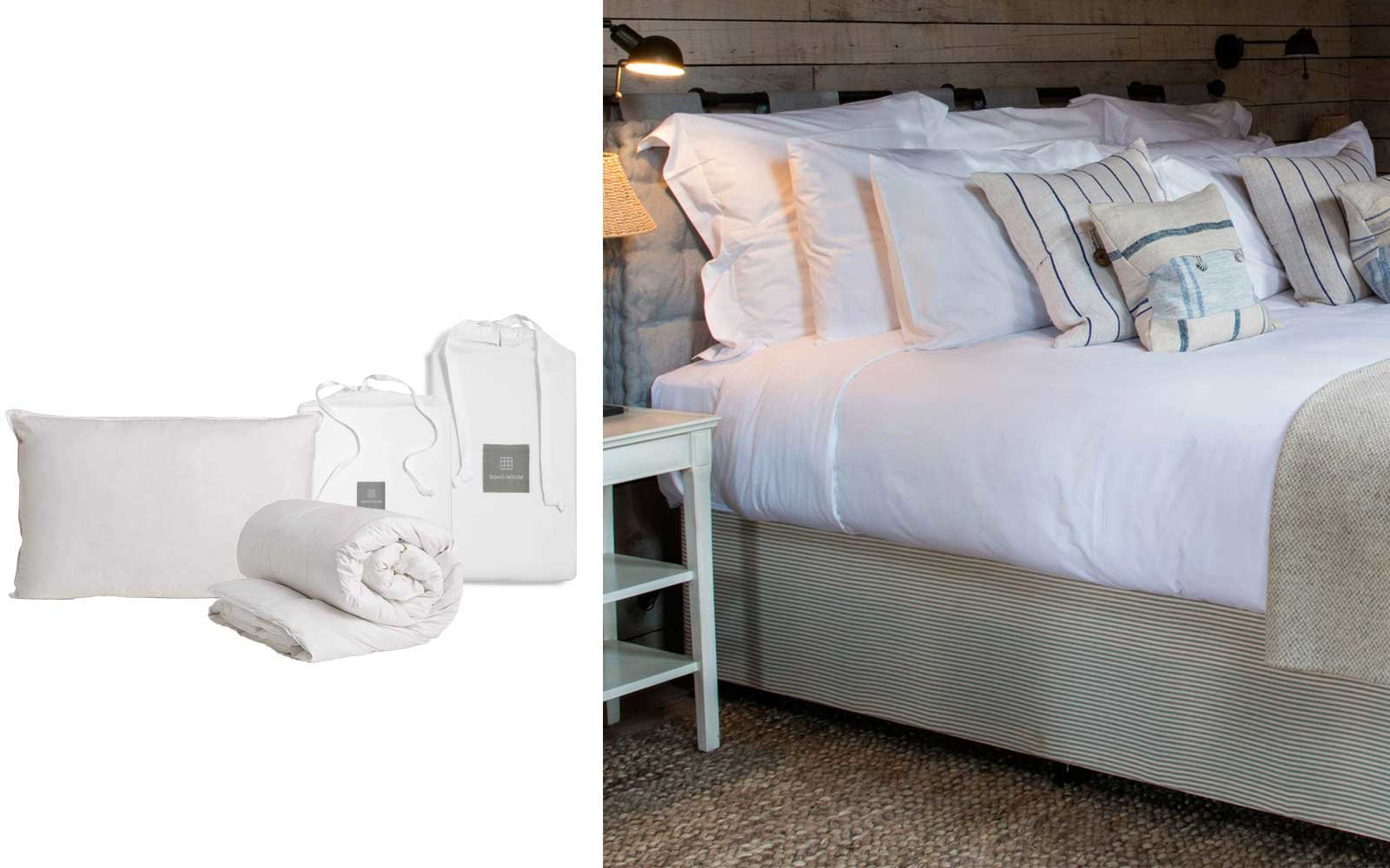 the soho house king bedding package
