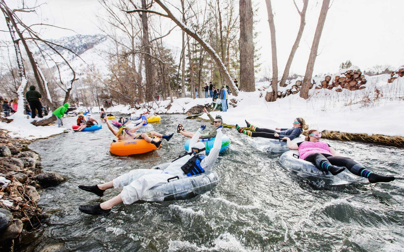 Fire and Ice Winter Fest Lava Hot Springs Idaho