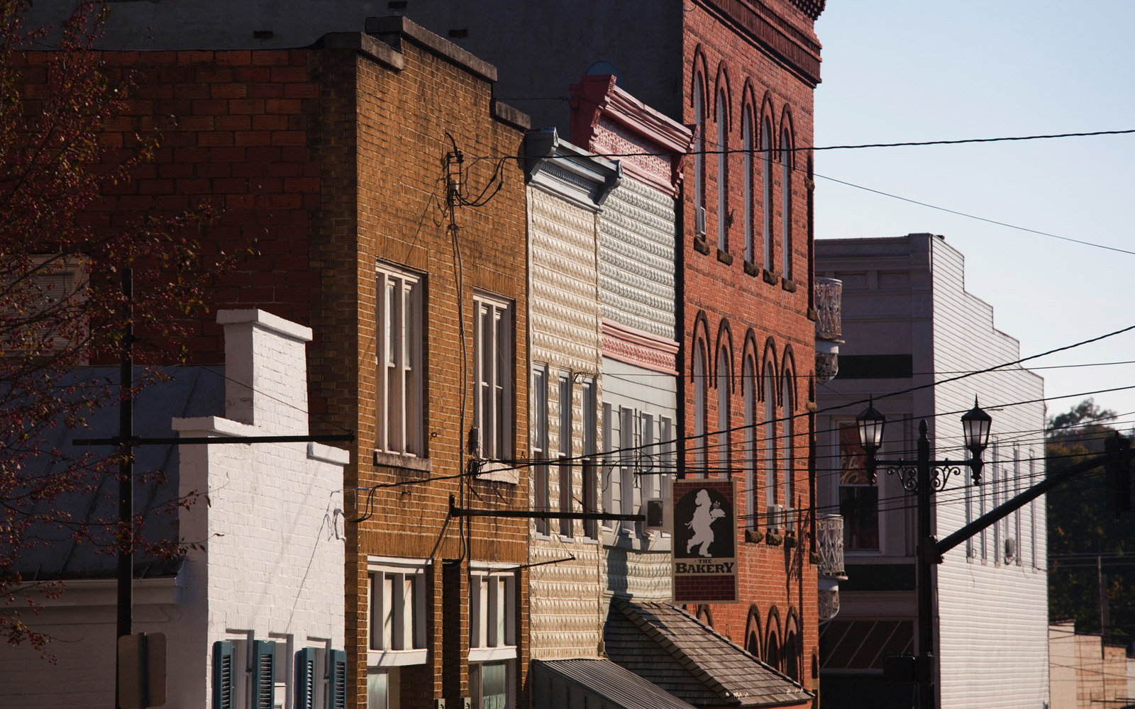 Buildings in a town, Lewisburg, Greenbrier County, West Virginia, USA